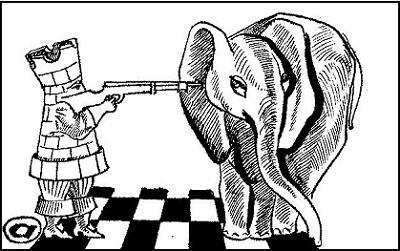 Ладья против слона в эндшпиле